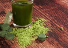 naturalne zdrowie - spirulina w proszku lub tabletkach